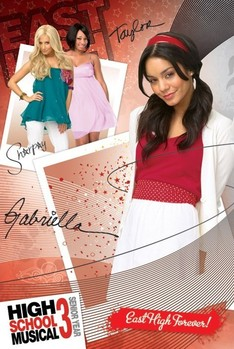 Poster HIGH SCHOOL MUSICAL 3 - gabriella