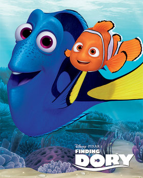 Poster Hitta Doris - Dory & Nemo