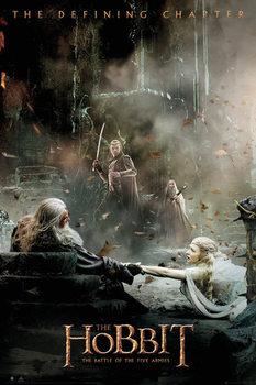 Poster Hobbit 3: Femhäraslaget - Aftermath
