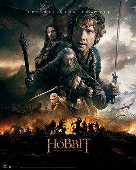 Poster Hobbit 3: Femhäraslaget