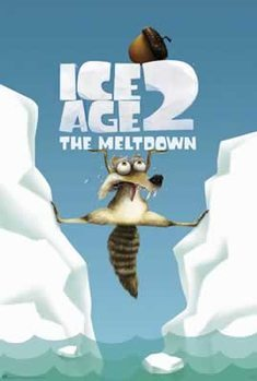 Poster  Ice Age 2: The Meltdown - Scrat Between Ice