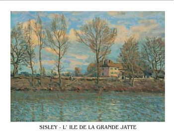 Island of La Grande Jatte Kunstdruck