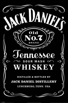 Poster Jack Daniel's - Label