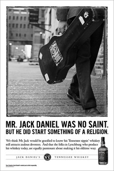 Poster Jack Daniel's - no saint