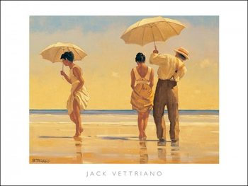 Konsttryck  Jack Vettriano - Mad Dogs