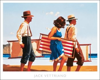 Konsttryck Jack Vettriano - Sweet Bird Of Youth Poster