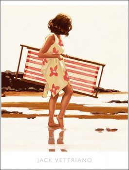 Konsttryck Jack Vettriano - Sweet Bird Of Youth Study