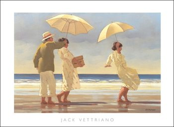Jack Vettriano - The Picnic Party Kunstdruck