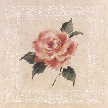 Jardin Rose l Kunstdruck