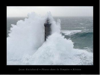 Jean Guichard - Phares Dans La Tempête, Kéreon Poster