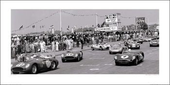 Jesse Alexander - Tourist Trophy, Goodwood, 1959 Kunstdruck