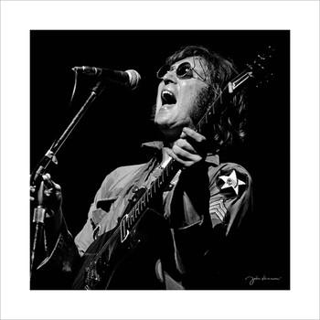 John Lennon - Concert  Kunstdruck