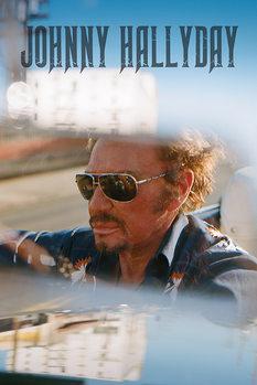 Poster Johnny Hallyday - Drive