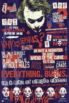 Плакат Joker - Quotes