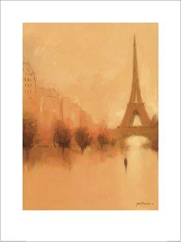 Jon Barker - Stranger in Paris Kunstdruck