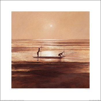 Konsttryck  Jonathan Sanders - Sinking Sun
