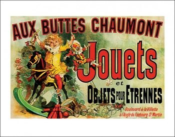 Jouets - As Seen on Friends Kunstdruck