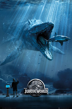 Jurassic Park IV: Jurassic World - Mosa-One-Sheet Poster
