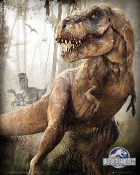Poster Jurassic World - T-Rex