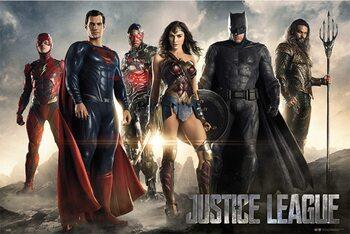 Póster Justice League - Group