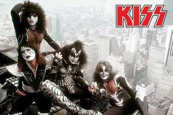 Poster Kiss - new york city
