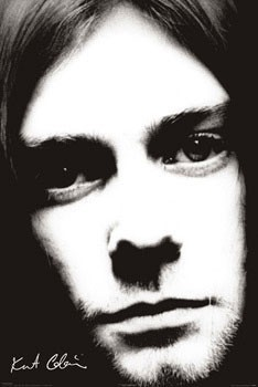 Poster Kurt Cobain - face