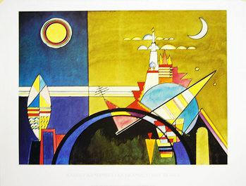 La Grande Torre Di Kiev Kunstdruck