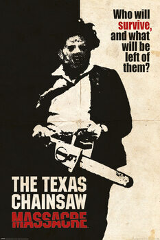 Póster La matanza de Texas - Who Will Survive?
