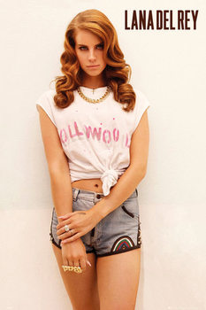 Poster Lana del Rey - hollywood