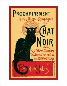 Konsttryck  Le Chat noir - Steinlein