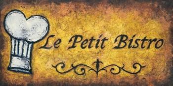 LE PETIT BISTRO Kunstdruck
