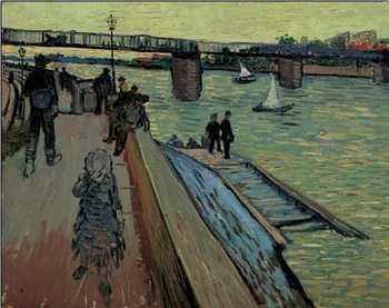 Le Port de Trinquetaille, 1888 Kunstdruck