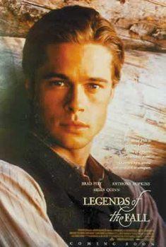 LEGENDEN DER LEIDENSCHAFT - LEGENDS OF THE FALL - Brad Pitt Poster
