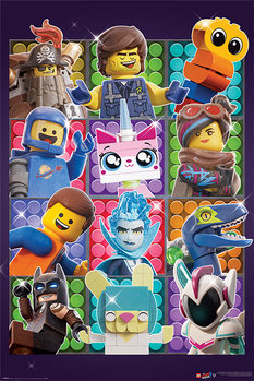 Poster Lego Filmen 2 - Some Assembly Required