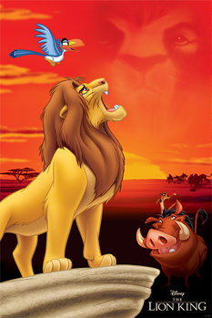 Poster Lejonkungen - King of Pride Rock
