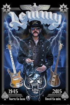 Poster Lemmy - Commemorative