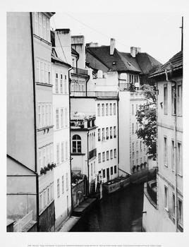 Konsttryck little Canal, Prague
