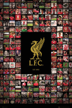 Poster Liverpool FC - Compilation