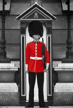 Poster London - royal guard