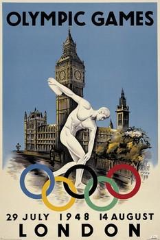 Poster Londýn 1959