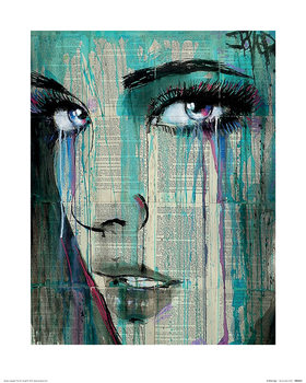 Konsttryck Loui Jover - A While Ago