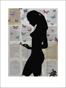 Loui Jover - Butterflies Kunstdruck