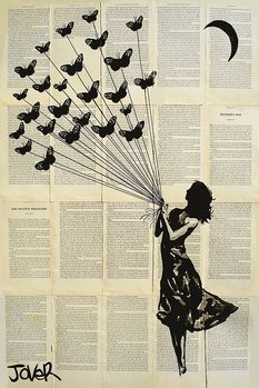 Loui Jover - Butterflying Poster