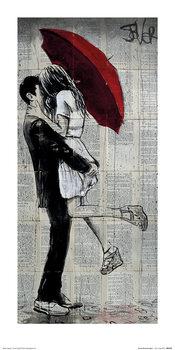 Loui Jover - Forever Romantics Again Kunstdruck