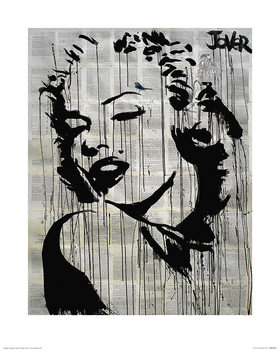 Konsttryck  Loui Jover - Icon