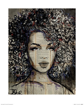 Konsttryck Loui Jover - Wonder 2