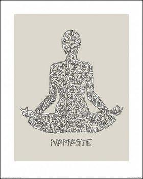 Louise Tate - Namaste Kunstdruck