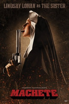 Poster MACHETE - the sister