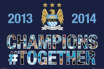 Poster Manchester City FC - Premiership