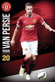 Manchester United FC - Van Persie 14/15 Poster